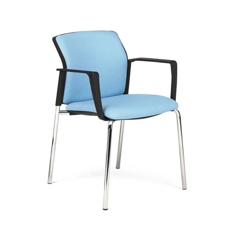 Lateral Silla Colectividades Logan Tapizada Azul