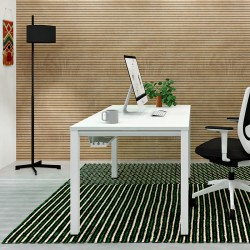 Mesa Blanca de Oficina en estancia