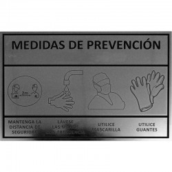 CARTELES DE PREVENCIÓN 30X20cm COVID-19