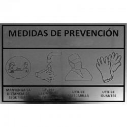 CARTELES DE PREVENCIÓN 30X20cm