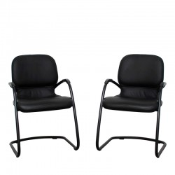 Steelcase Pack de 2 sillas Sensor tapizado similpiel