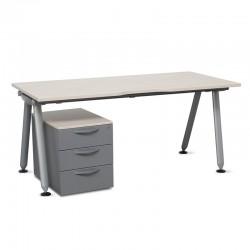 Mesa MM490 y Cajonera Steelcase para Oficina y Escritorio