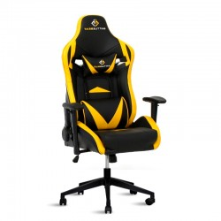 Silla Gaming Ergonómica Eclipse de BattleSeat Amarillo