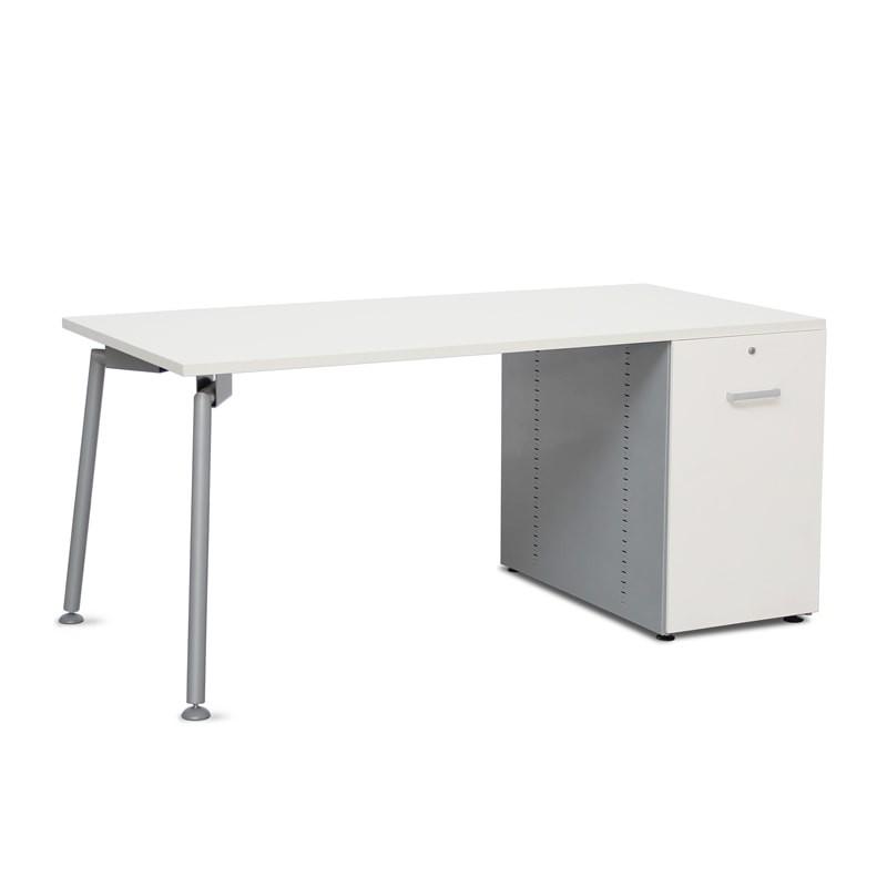 Mesa de Oficina con Cajonera Pedestal MM542