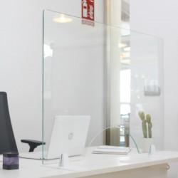 Mampara Protección de Vidrio Templado 140x80 cm Aurum
