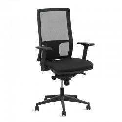 silla ergonomica negra