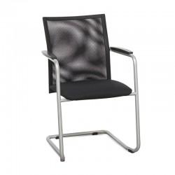 silla confidente Comforto 55 negra de Haworth