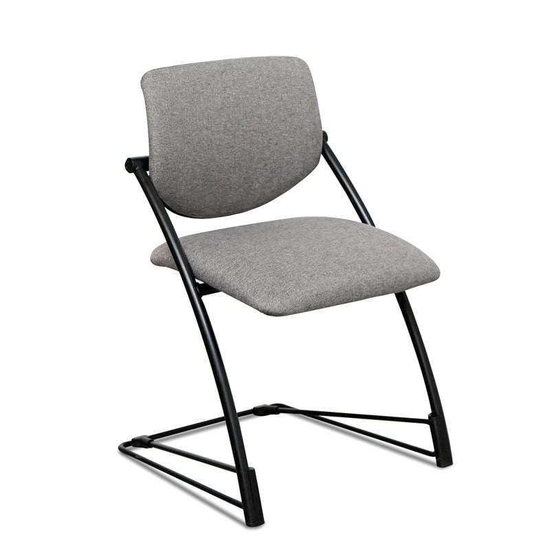silla confidente base patín de steelcase