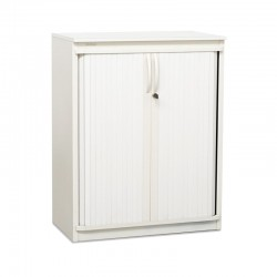 armario metalico blanco steelcase
