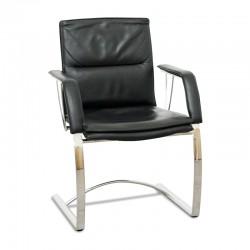 oferta silla confidente de piel segunda mano
