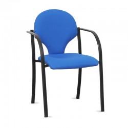 silla confidente para recepción de personal
