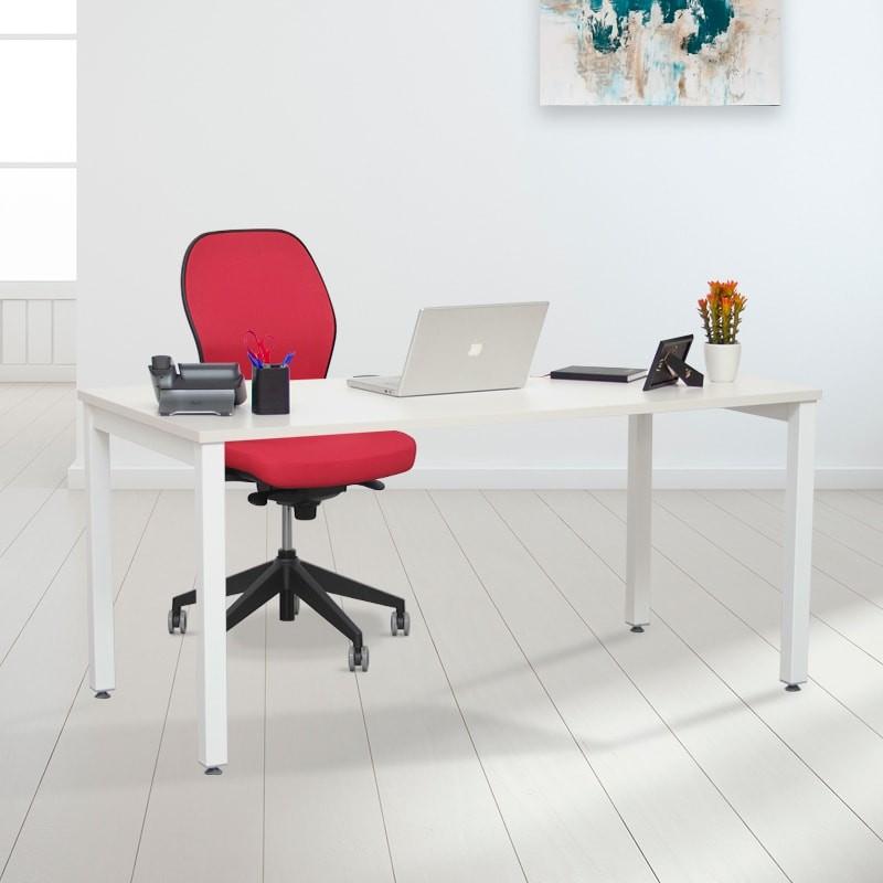 Mesa de escritorio para oficina en casa de la serie new