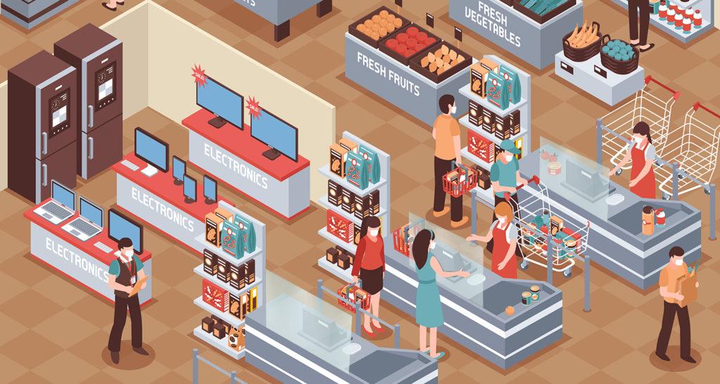 Medidas de control de temperatura en centros comerciales y grandes superficies