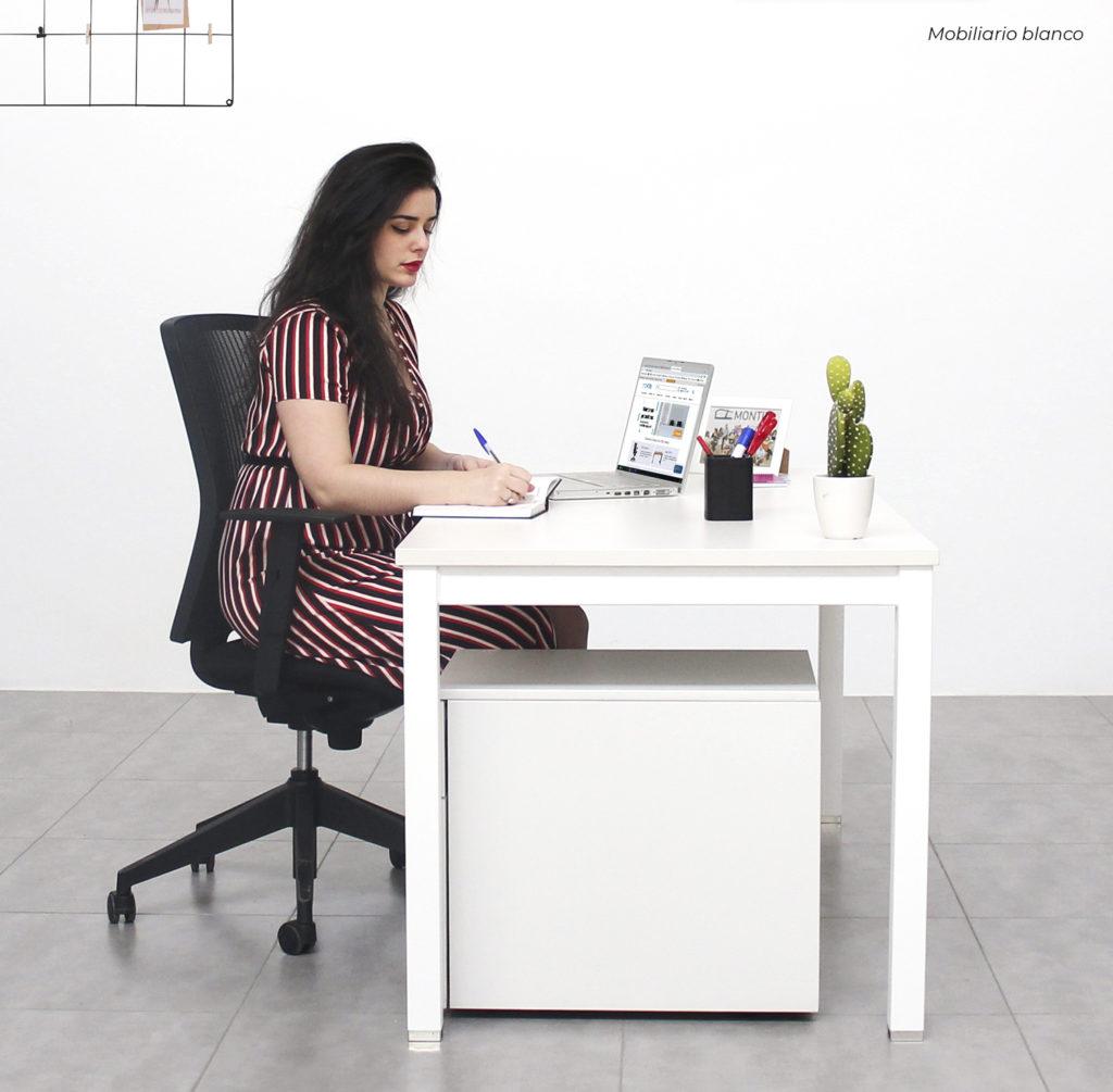 tendencias decoracion 2020 muebles blancos