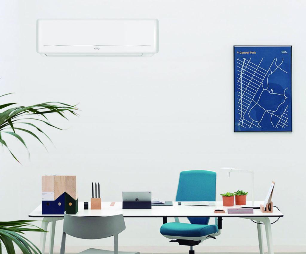evitar el calor en la oficina