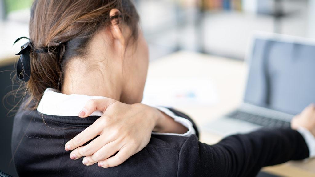 Como evitar el dolor mientras trabajas