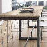 Mesas altas para espacios modernos