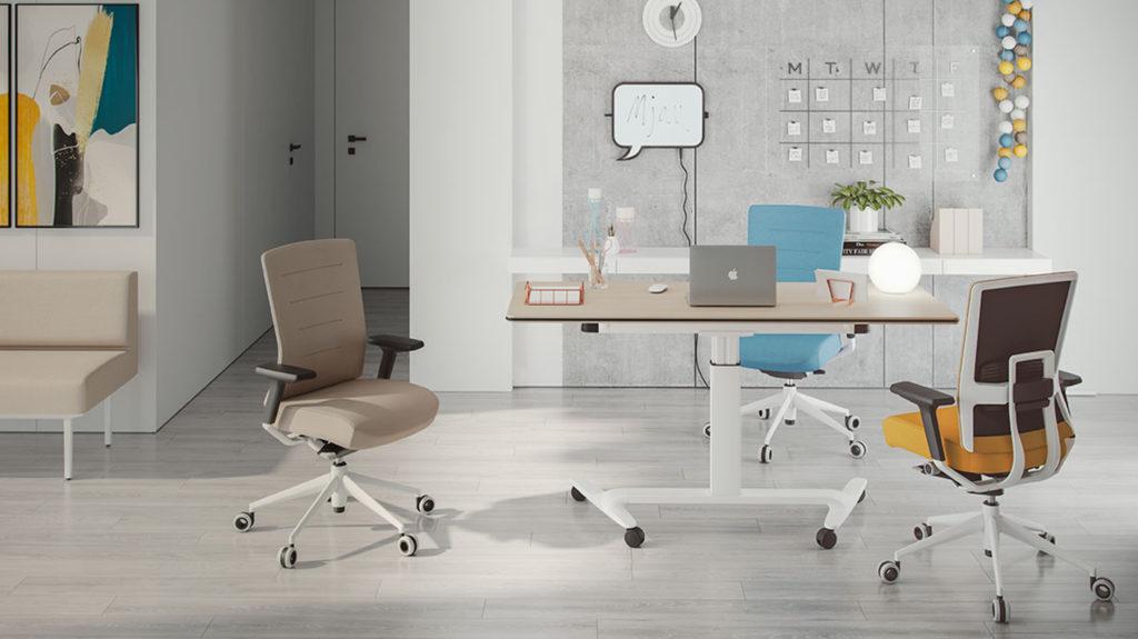 Las mesas elevables eléctricas de oficina son la última tendencia