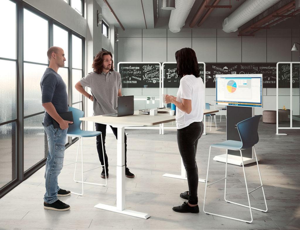 las mesas elevables de oficina son las más top