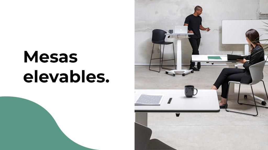 Las mesas elevables de oficina son la última tendencia
