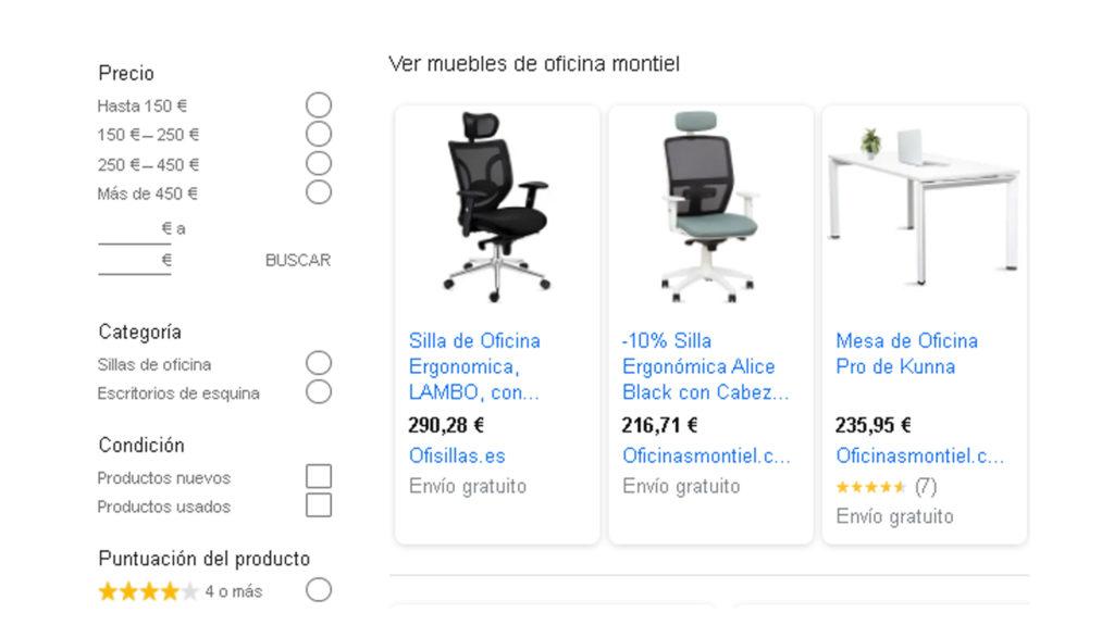 comparar y comprar muebles oficina baratos