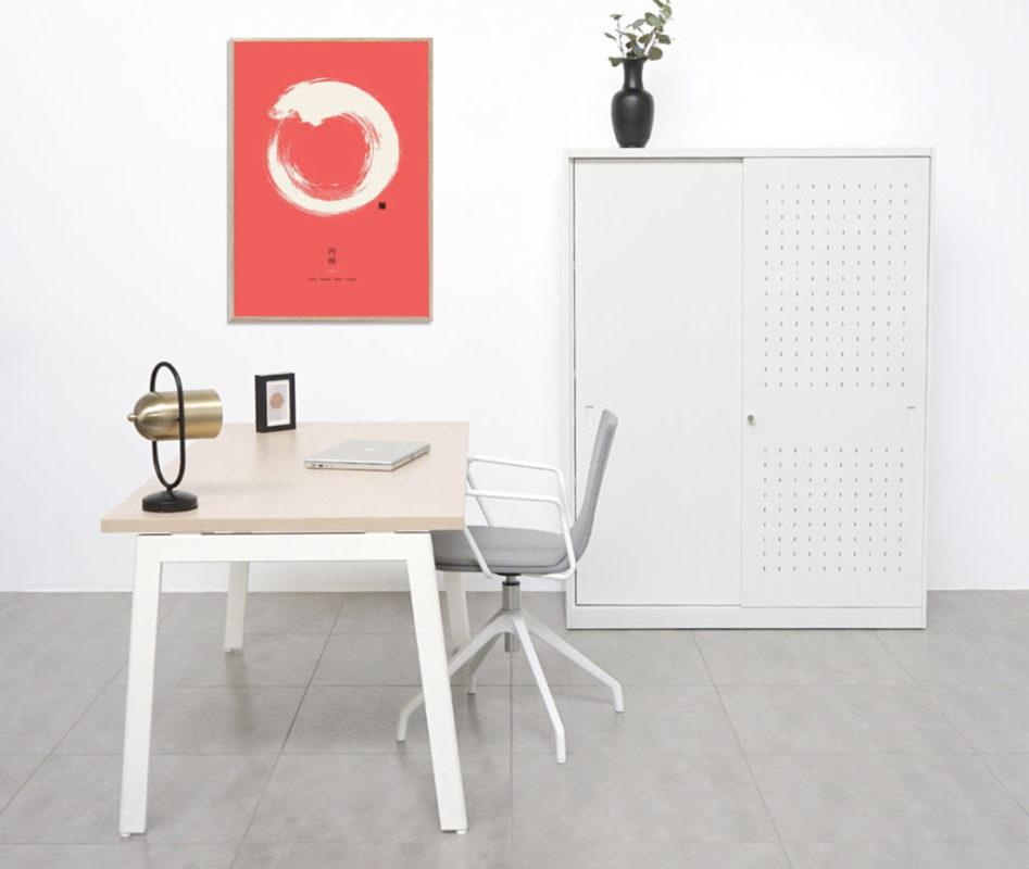 La mesa de trabajo de madera que necesitas