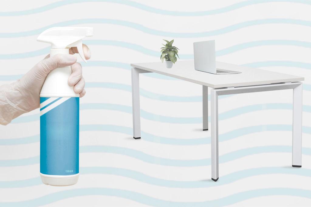 Cómo limpiar escritorios de oficina: guía definitiva