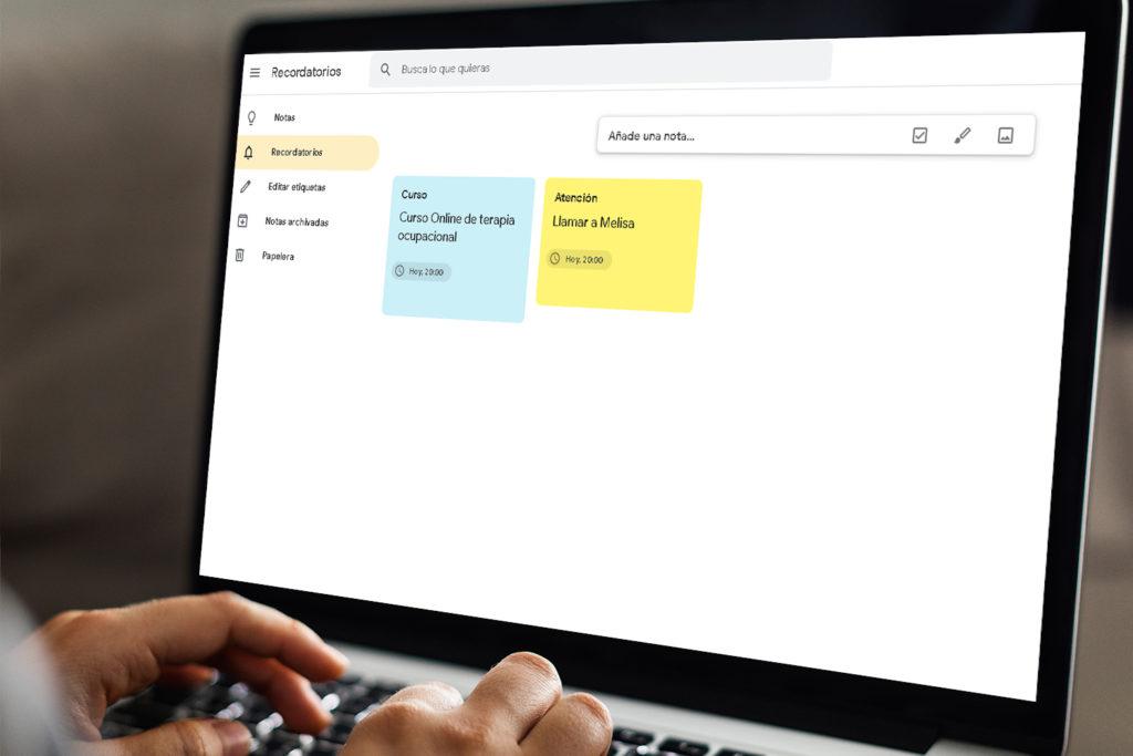 Google Keep apps para organizarse en tu dia a dia