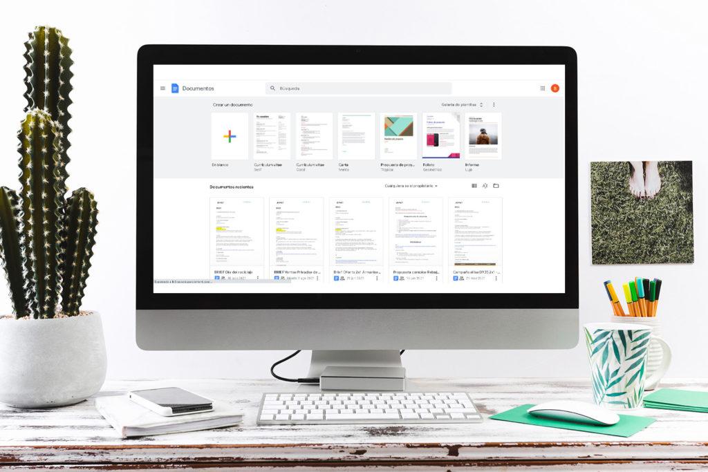 Google Docs apps para organizarse en tu dia a dia