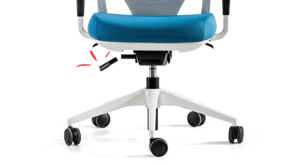 por qué la silla de oficina se baja sola