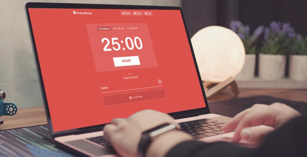 Pomofocus apps para organizarse en tu dia a dia