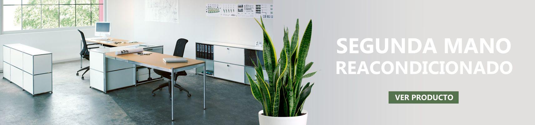 Compra muebles de oficina de segunda mano reacondicionado al mejor precio, calidad y garantía Montiel