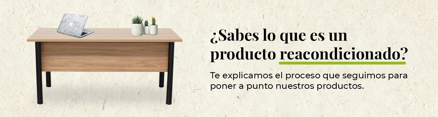 muebles de oficina reacondicionados y sostenibles