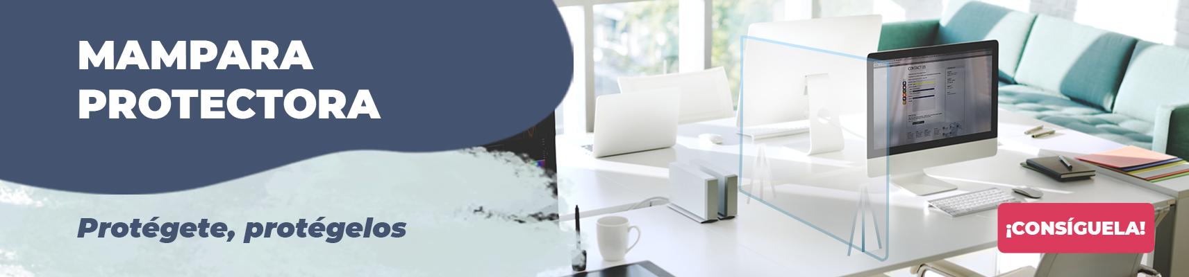 Mamparas protectoras anti contagio para negocios y oficinas