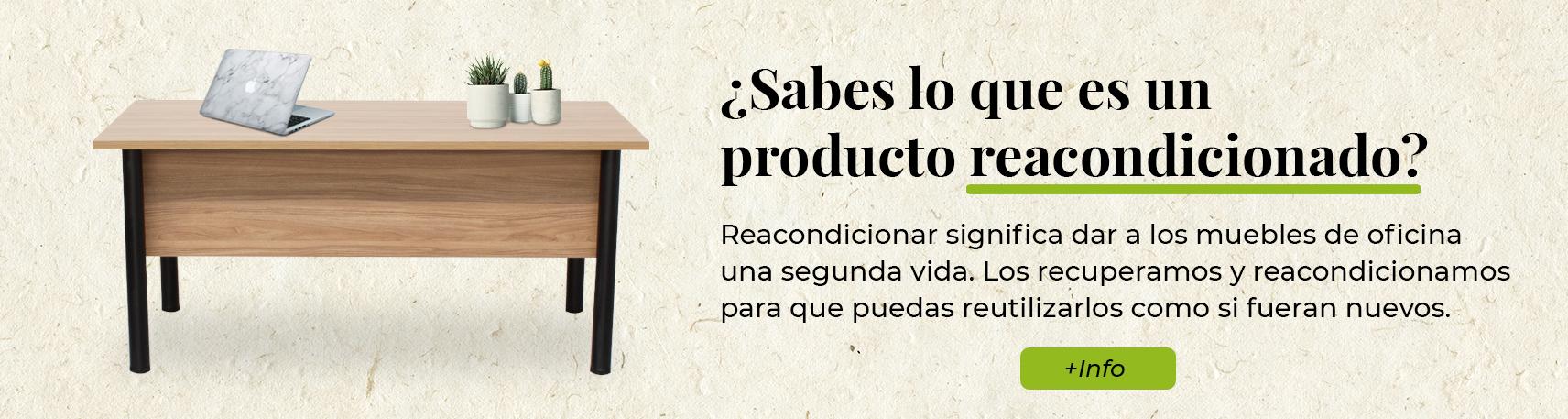 muebles de oficina reacondicionados en Madrid
