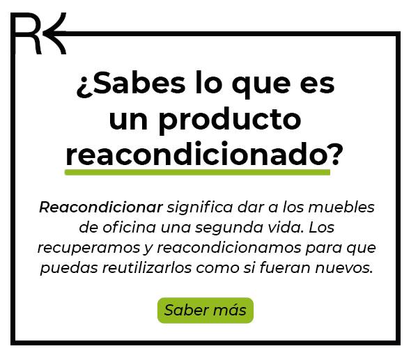muebles de oficina reacondicionados en Murcia