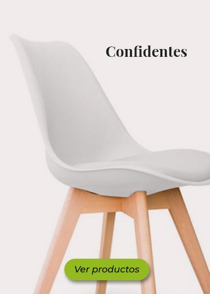 sillas confidente para oficina en madrid