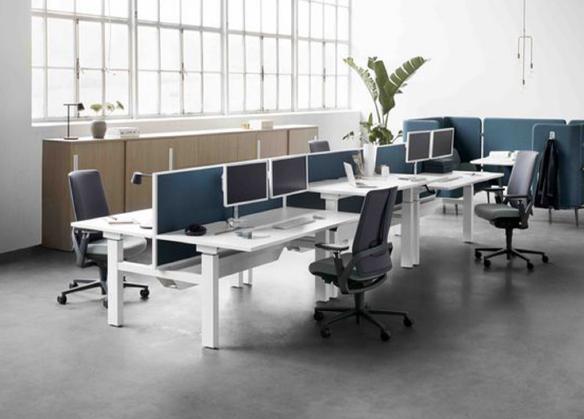 Instalación de mobiliario en oficinas, espacios de trabajo y locales comerciales