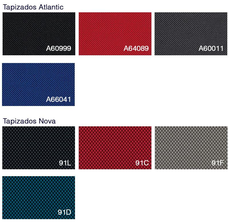 Tapizados de colores Silla Ergonómica Open Up up-100 y up-103 de Sedus