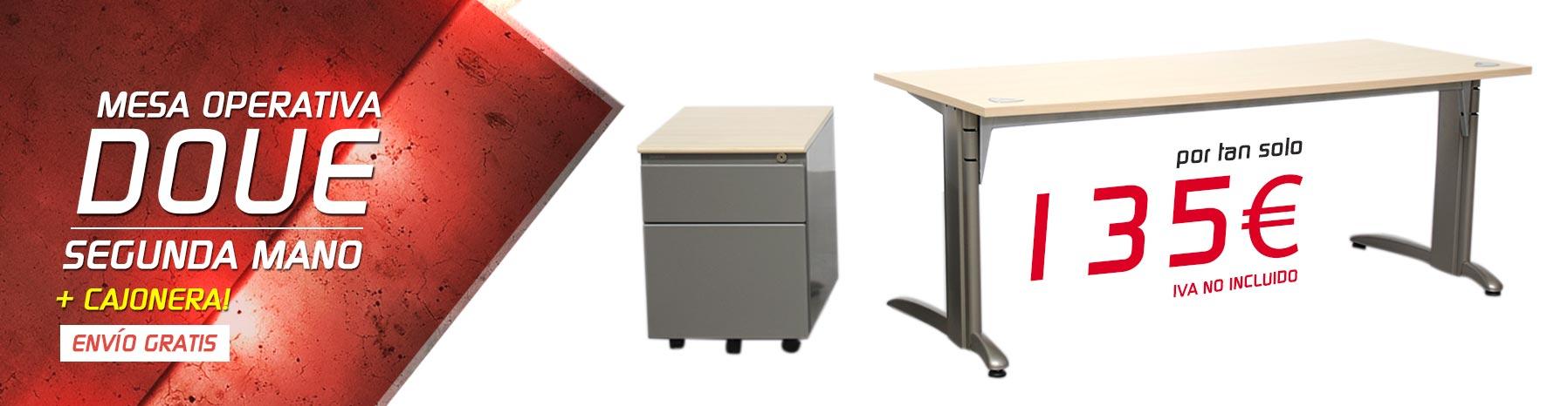 Mesas de Oficina Segunda Mano | Tienda Online Muebles Oficina Montiel