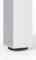 Configuración de Mesas de Reunión Serie Star de Mobel Linea : Color Estructura Mesas - - Pata cuadrada blanca