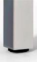 Configuración de Mesas de Reunión Serie New : Color Estructura Mesas - - Pata cuadrada epoxi gris