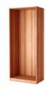 Configuración de Armario de Oficina de Herpesa Con Puertas Bajas : Color Estructura Armarios - Estructura Cerezo