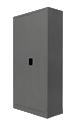 Configuración de Armario metalico de Bisley : Color Estructura Armarios - Estructura Gris Oscura Metalica
