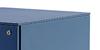 Configuración de Cajonera de Oficina azul clara de Ofita : Estructura Cajoneras - Azul