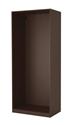 Configuración de Armario de Oficina de Herpesa Con Puertas Bajas : Color Estructura Armarios - Estructura Wengue