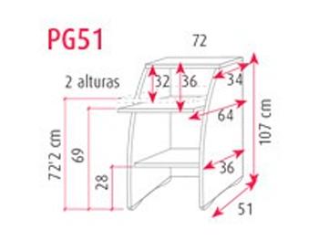 PG51 - 72x107