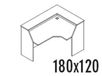 Compacto Derecho 180x120
