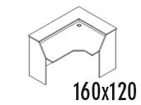 Compacto Derecho 160x120