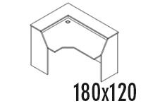 Compacto Izquierdo 180x120